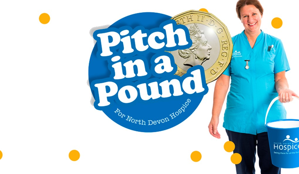 Pitch in a Pound for North Devon Hospice