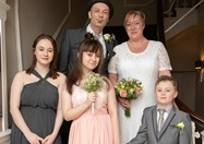 Hospice arranged wedding for man with terminal cancer