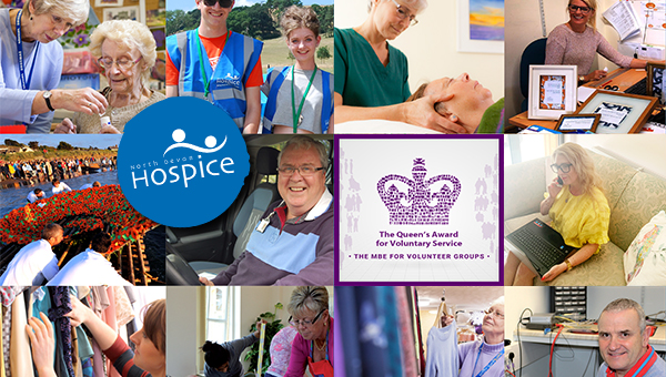 Hospice volunteers honoured with Queen's Award for Voluntary Service