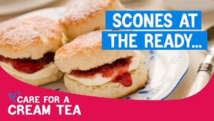 Care for a Cream Tea, thank you for signing up