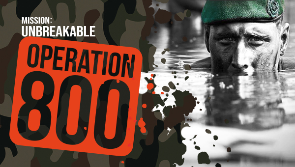 Mission Unbreakable: Operation 800